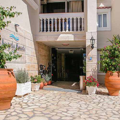 Entrance - Hotel Roda Corfu