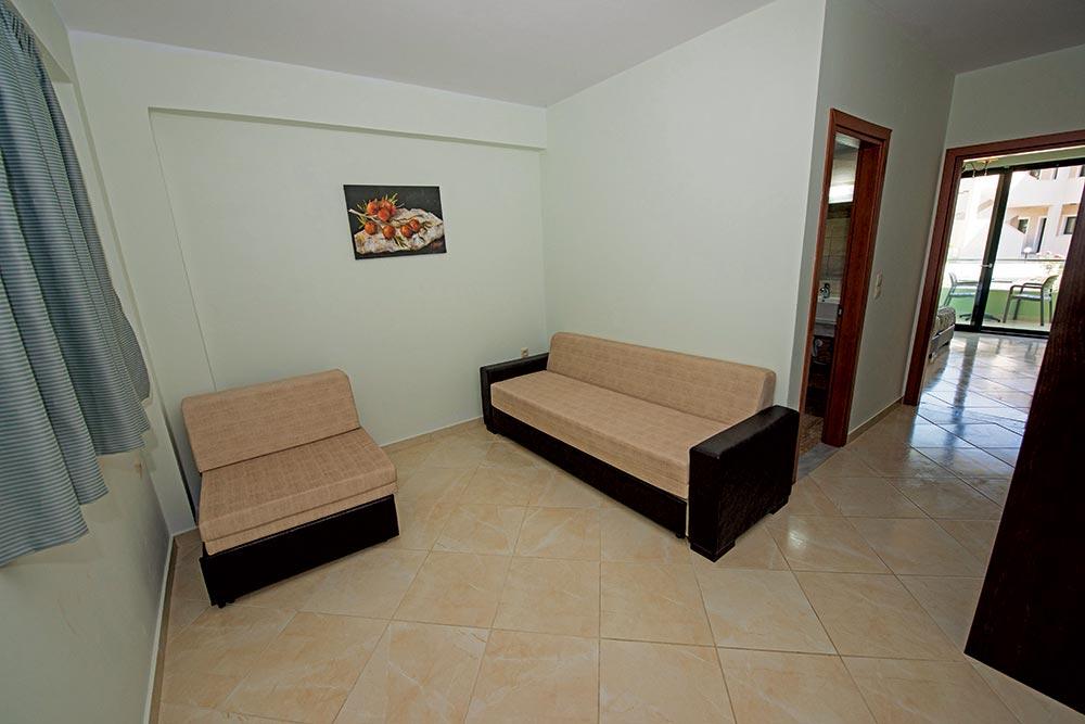 Living Room - Hotel Roda Corfu