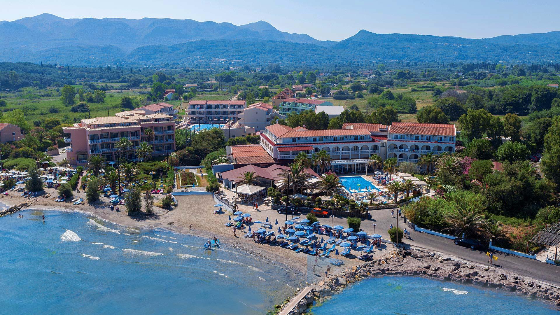 Beach - Hotel Roda Corfu